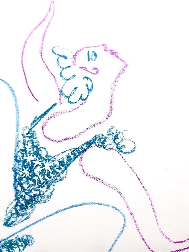 Pablo Picasso - The Ballet Dancer - Original Lithograph For Sale 1