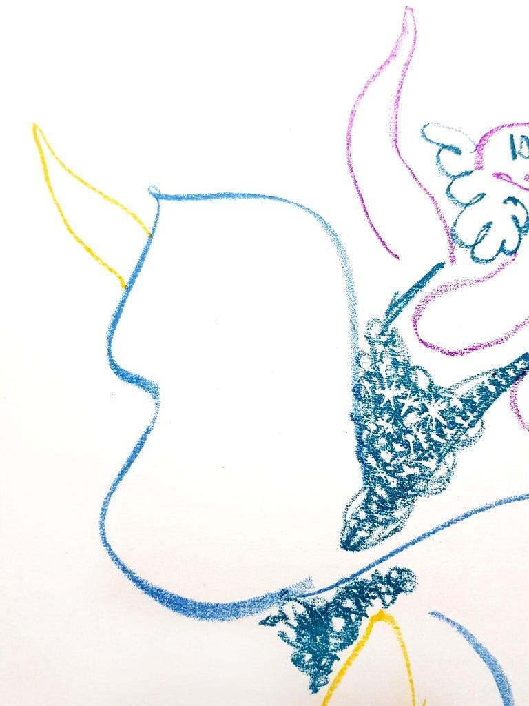 Pablo Picasso - The Ballet Dancer - Original Lithograph For Sale 3