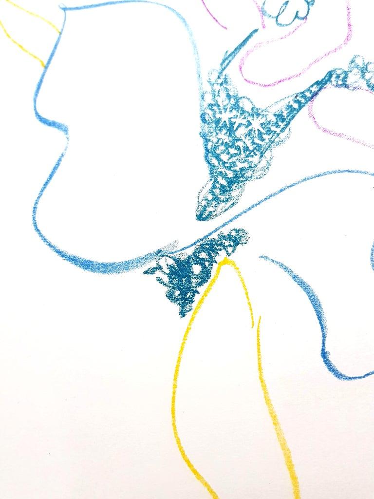 Pablo Picasso - The Ballet Dancer - Original Lithograph For Sale 4