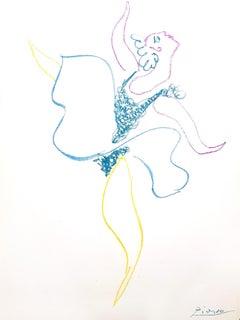 Pablo Picasso - The Ballet Dancer - Original Lithograph
