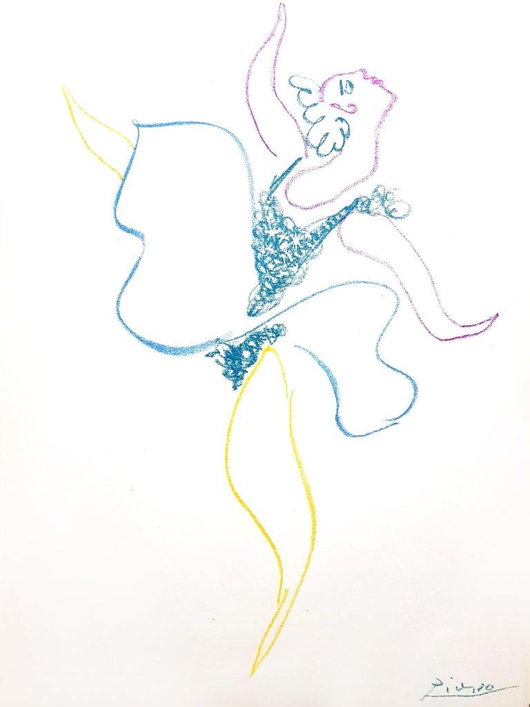 Pablo Picasso - The Ballet Dancer - Original Lithograph - Print by Pablo Picasso
