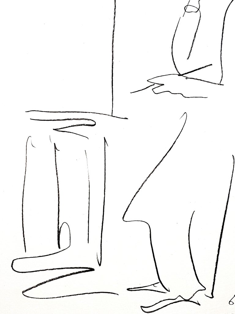 Pablo Picasso - The Painter - Original Lithograph 1