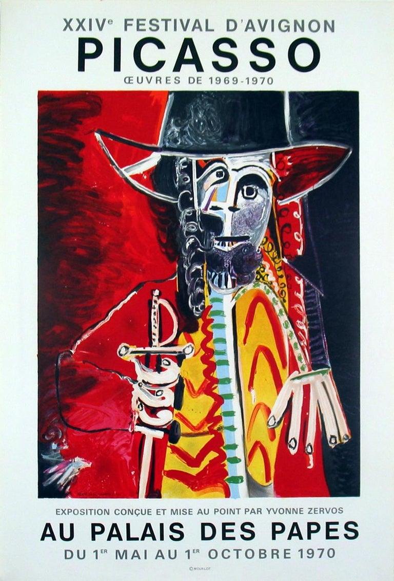 Pablo Picasso Figurative Print - Palais Des Papes