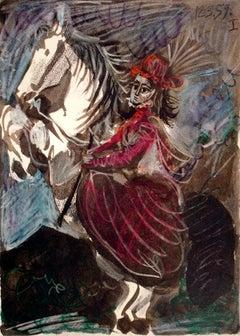 Paloma as a Rider
