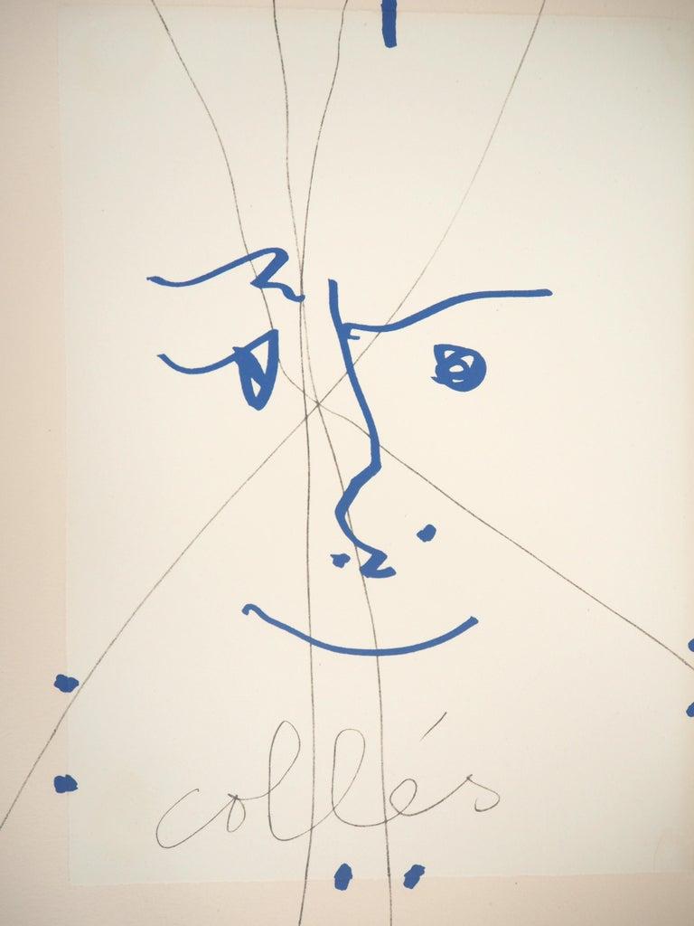 Papiers Collés 1910-1914 - Lithograph #Mourlot - Print by Pablo Picasso