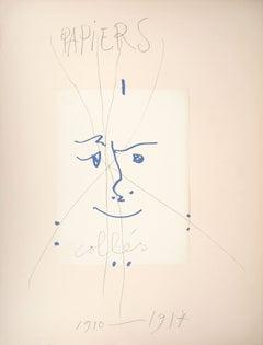 Papiers Collés 1910-1914 - Lithograph #Mourlot