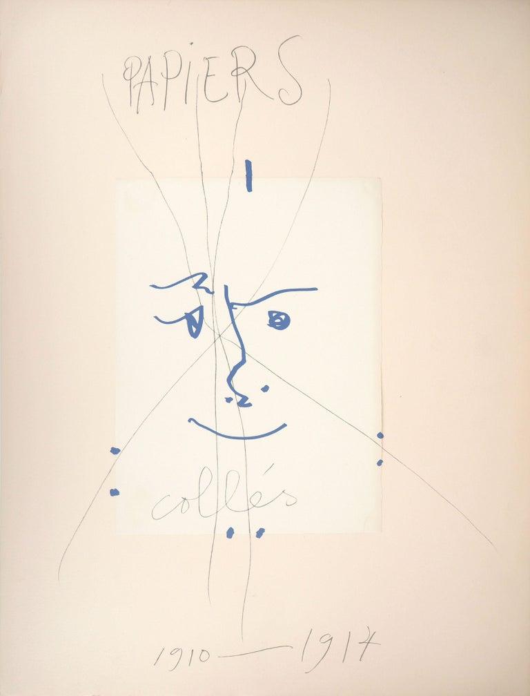 Pablo Picasso Figurative Print - Papiers Collés 1910-1914 - Lithograph #Mourlot