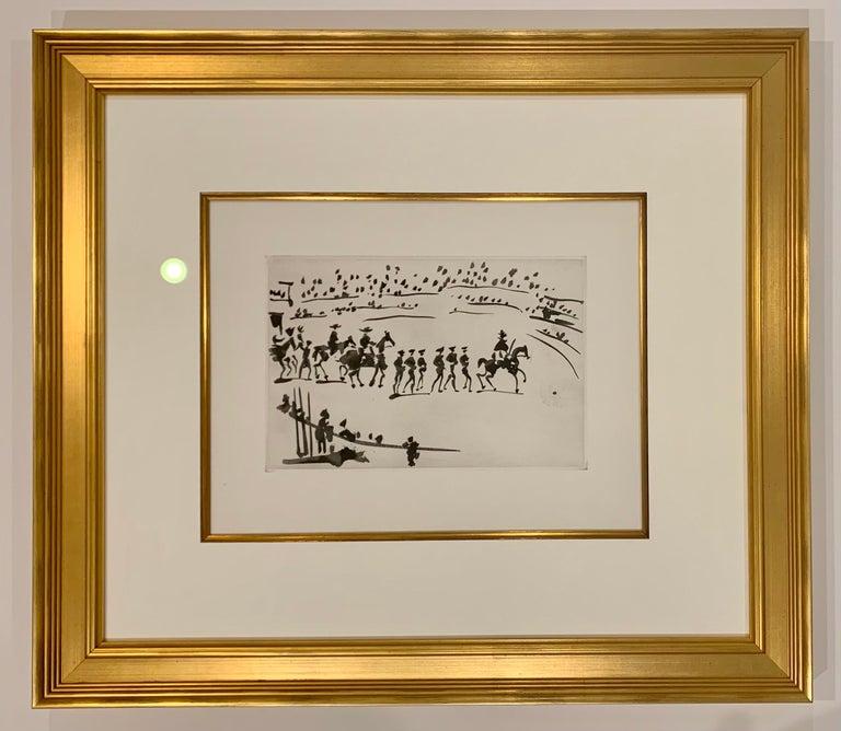 Pablo Picasso Figurative Print - Paseo de Cuadrillas (Ride of the Bullfighting Teams)