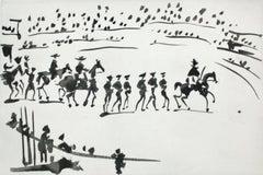 Paseo de Cuadrillas (Ride of the Bullfighting Teams)