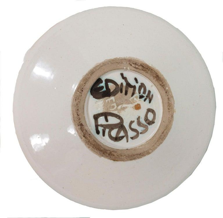'Picador' Madoura ceramic bowl, Edition Picasso - Sculpture by Pablo Picasso