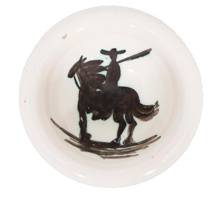 'Picador' Madoura ceramic bowl, Edition Picasso - Cubist Sculpture by Pablo Picasso