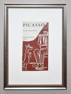 Picasso 60 Ans de Gravures Exhibition Catalogue