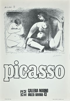 Picasso Exhibition Poster - Original Offset by Picasso (after) - 1974