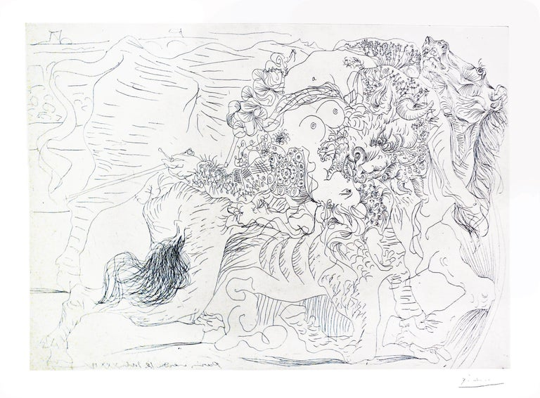 Pablo Picasso Figurative Print - Picasso: Femme Torero, I B1329