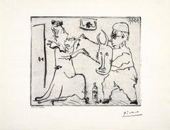 Picasso Histoire de Sabartes et desa Voisine: Les Banderilles