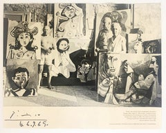 Picasso, Jane & Sam Kootz, Exhibition Poster
