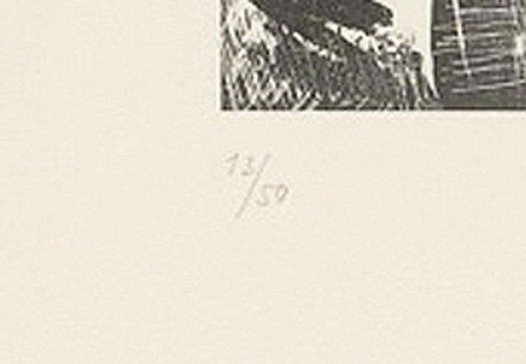 Picasso L'Italienne (d'après le tableau de Victor Orsel) (Bloch 740.2) - Modern Print by Pablo Picasso