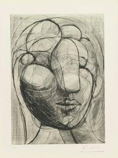 Picasso: Sculpture. Tête de Marie-Thérèse B250