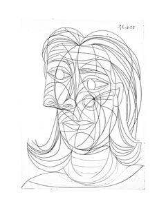 Picasso: Tête de Femme Bloch 0321