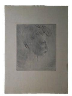 Picasso: Tête de Femme de Profil B6