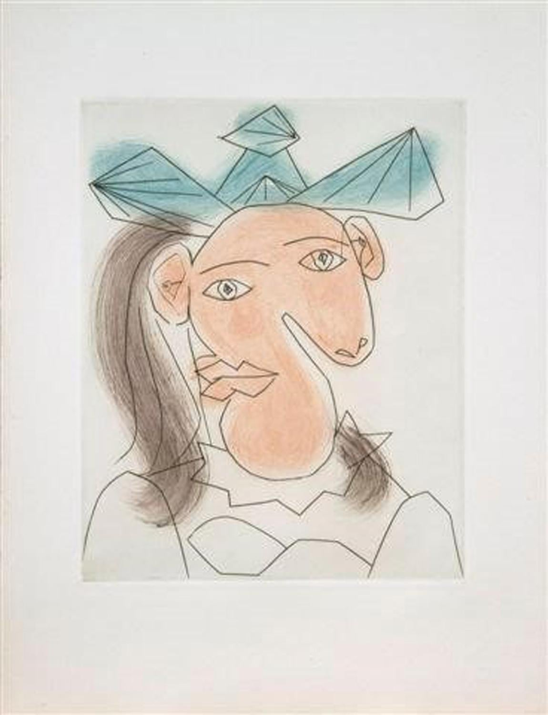 Picasso: Tète de femme No. 7. Portrait de Dora Maar