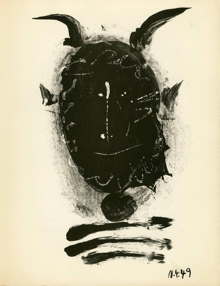Plate 2, Elegie de Ihpetonga suive de Masques de cendre