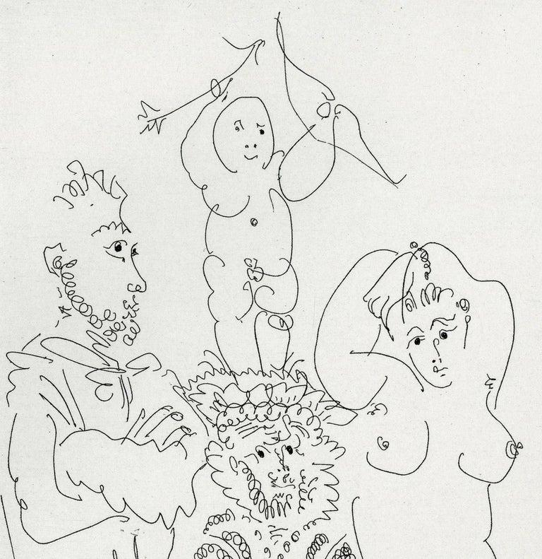 Plate III, Le Cocu Magnifique - Print by Pablo Picasso
