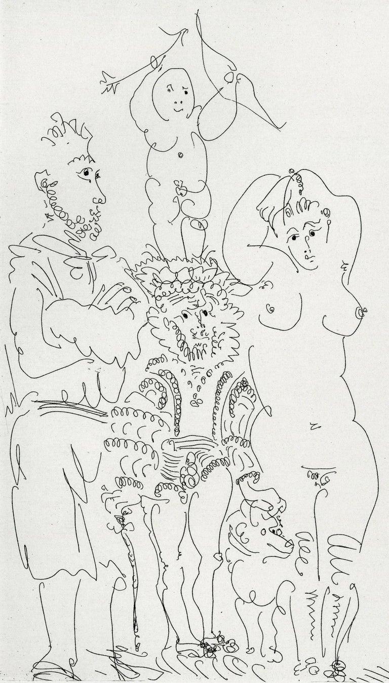 Plate III, Le Cocu Magnifique - Modern Print by Pablo Picasso