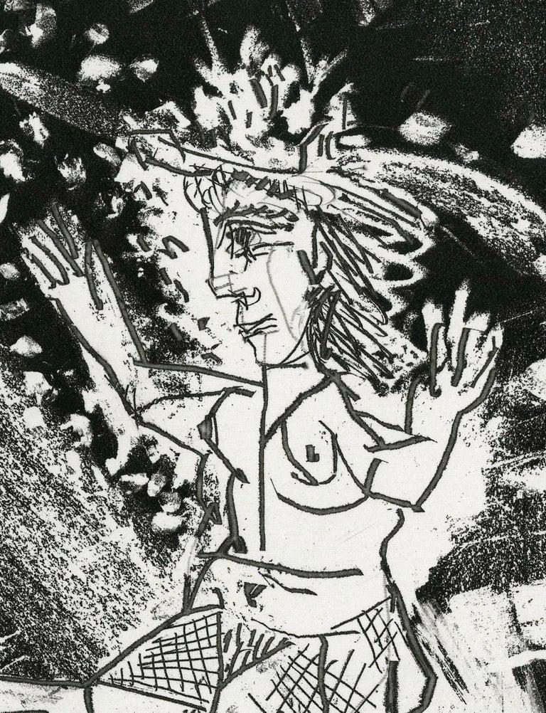 Plate IV, Le Cocu Magnifique - Print by Pablo Picasso
