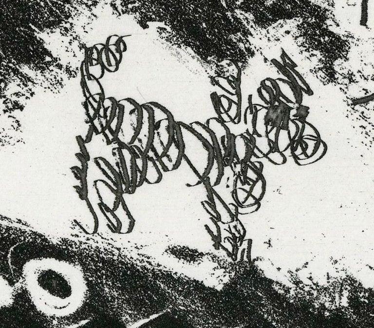 Plate IV, Le Cocu Magnifique - Black Nude Print by Pablo Picasso