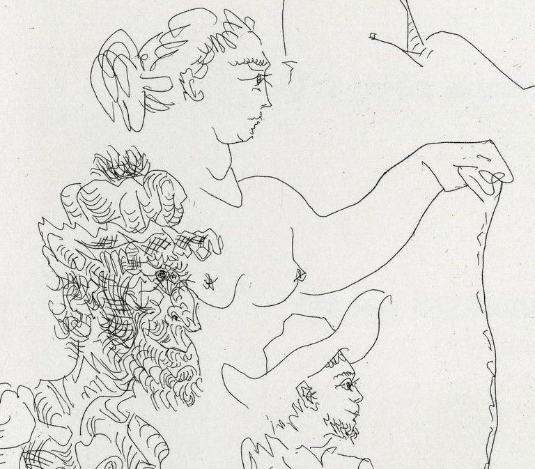 Plate V, Le Cocu Magnifique - Print by Pablo Picasso