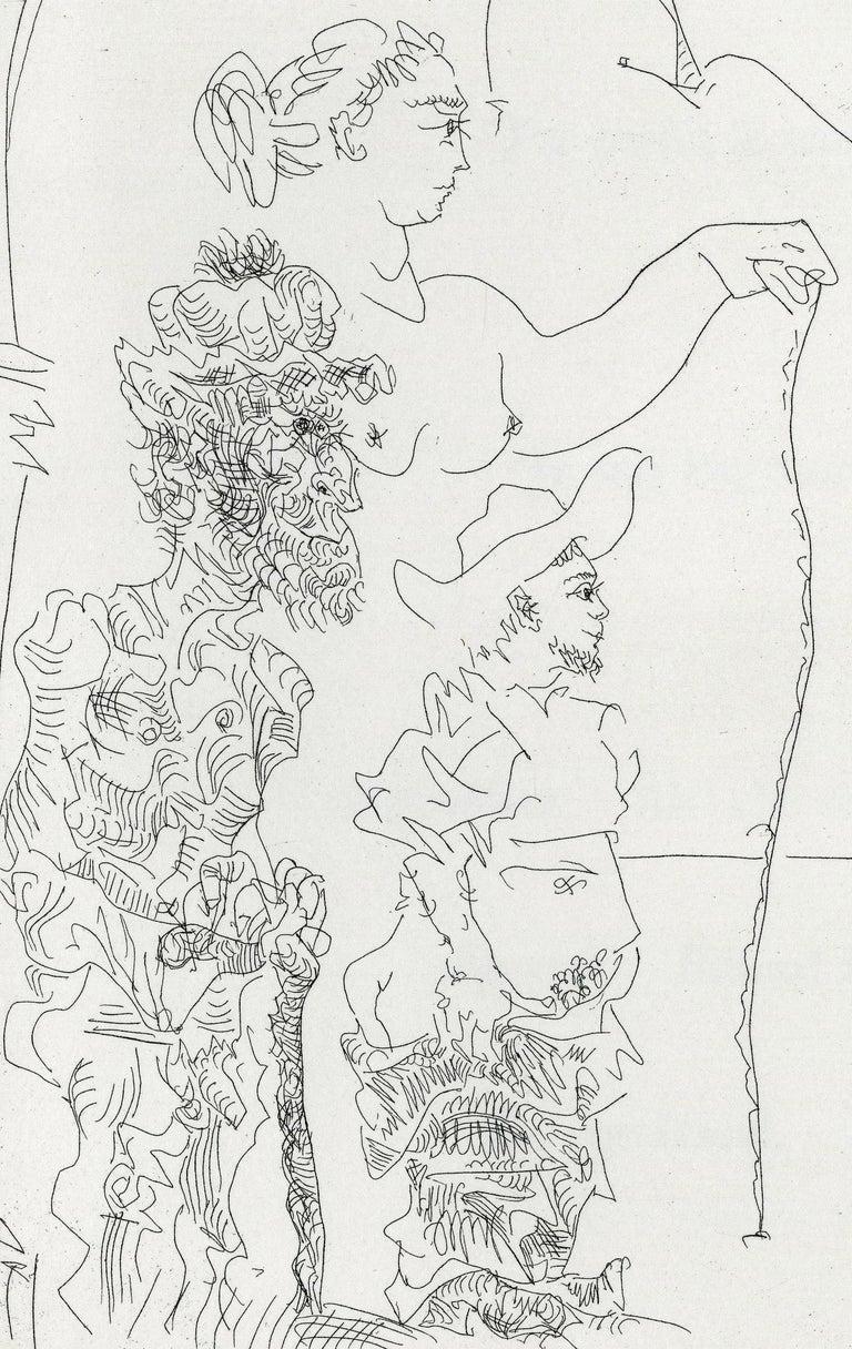 Plate V, Le Cocu Magnifique - Modern Print by Pablo Picasso