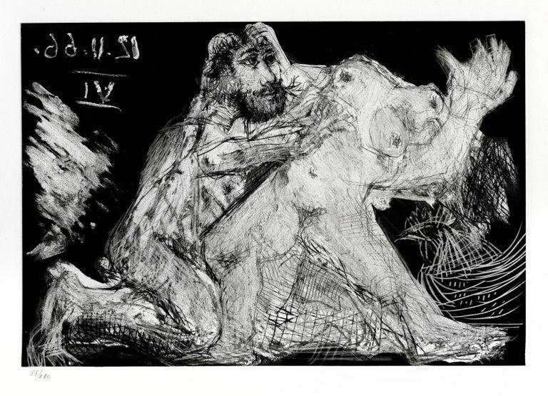 Pablo Picasso Figurative Print - Plate XII