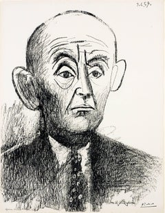 Portrait de D. H. Kahnweiler I