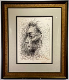 """Pablo Picasso """"Portrait de Jacqueline"""""""