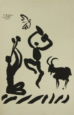 Poster-Goat Dance (Reproduction)