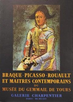 Poster (Reproduction)-Braque-Picasso-Rouault: Et Maitres Contemporains.
