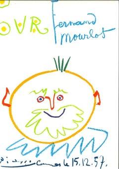 Pour Mourlot - Original Lithograph after Pablo Picasso - 1982