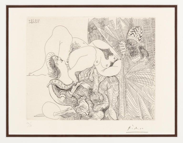 Raphael et La Fornarina - Print by Pablo Picasso