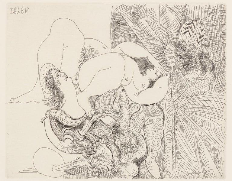 Pablo Picasso Figurative Print - Raphael et La Fornarina