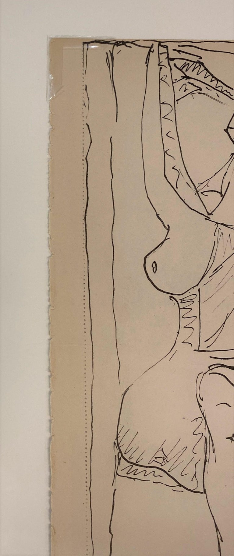 Royan Lithograph 19.6.40 For Sale 2