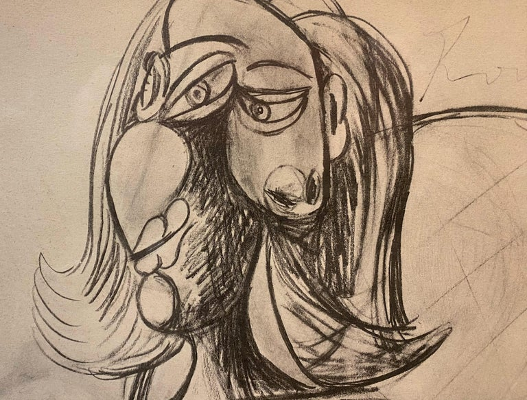 Royan Lithograph 8.6.40 - Cubist Print by Pablo Picasso