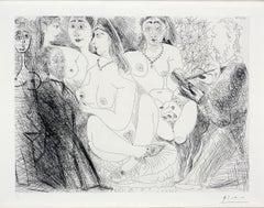 Series 156: 081 Degas en Jaquette, se dessinant lui-même, en Habit, chez les Fil