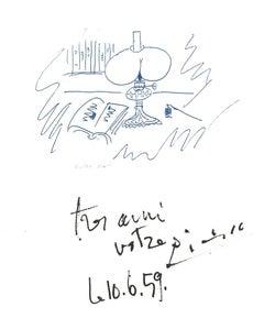 Souvenir - Original Lithograph after Pablo Picasso - 1982