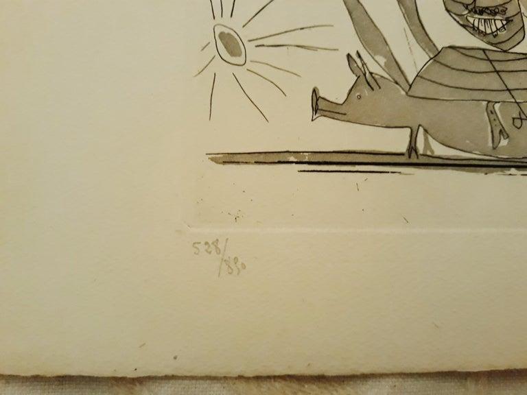 Sueño y Mentira de Franco - Original Etchings and Aquatints by P. Picasso - 1937 For Sale 5