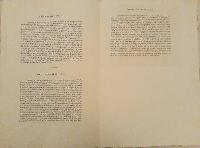 Sueño y Mentira de Franco - Original Etchings and Aquatints by P. Picasso - 1937 For Sale 1