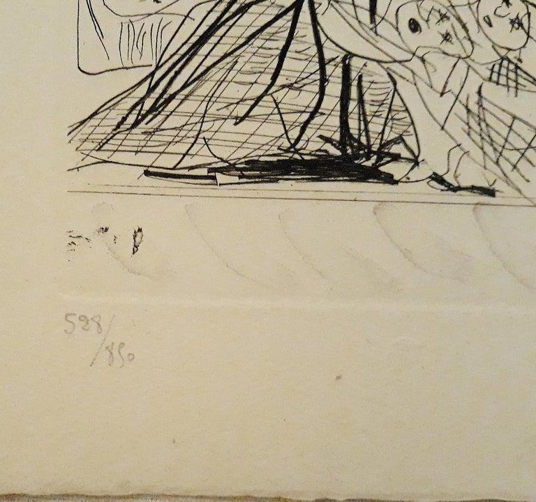 Sueño y Mentira de Franco - Original Etchings and Aquatints by P. Picasso - 1937 For Sale 3