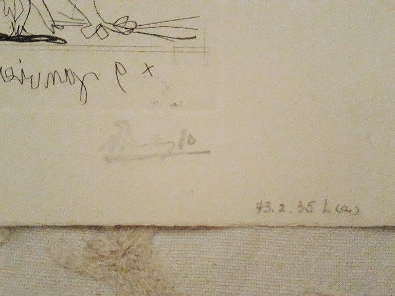Sueño y Mentira de Franco - Original Etchings and Aquatints by P. Picasso - 1937 For Sale 4