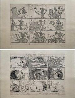 Sueño y Mentira de Franco (Planche I and II)