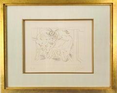 Pablo Picasso,Taureau et Cheval from Le Chef- d'Œuvre Inconnu